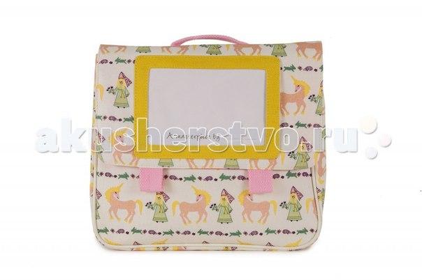 Детский портфель damsels & unicorns, Pink Lining