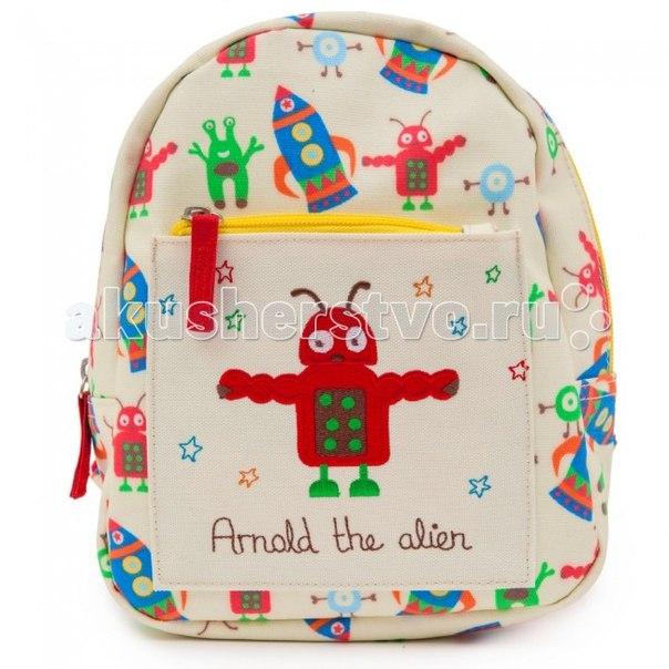Детский мини-рюкзак arnold the alien, Pink Lining