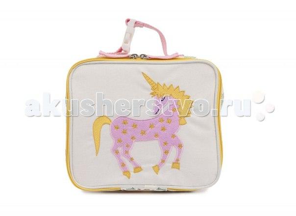 Ланчбокс damsels & unicorns, Pink Lining