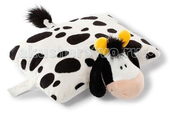 Подушка игрушка Коровка 40х30 см, Nici