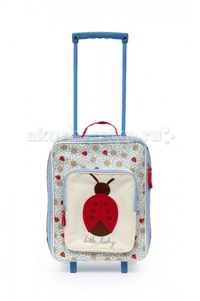 Детский дорожный чемодан little lady, Pink Lining