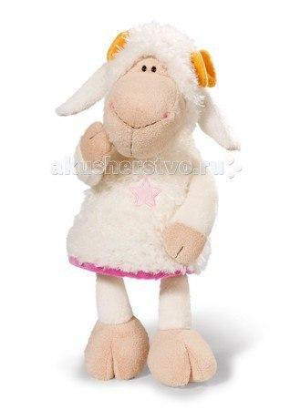 Мягкая игрушка Овечка Эми сидячая 25 см, Nici