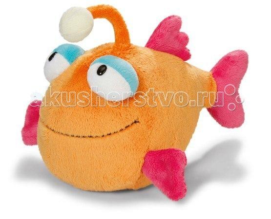 Мягкая игрушка Рыбка с фонариком 25 см, Nici