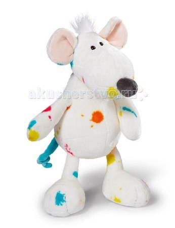 Мягкая игрушка Крыска сидячая 35 см, Nici