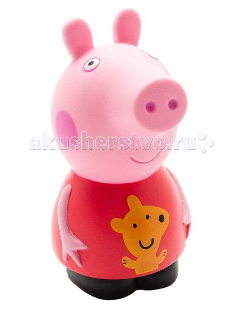 Игрушка для купания пеппа 10 см, Peppa Pig