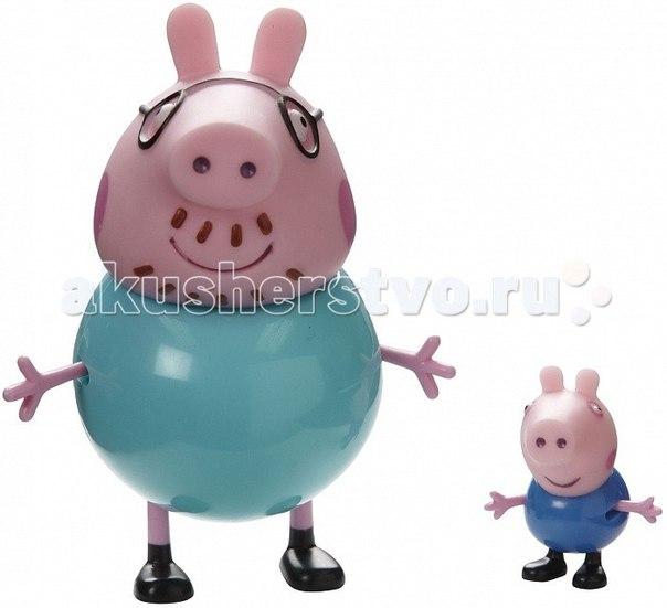 Семья пеппы 2 фигурки в ассортименте, Peppa Pig