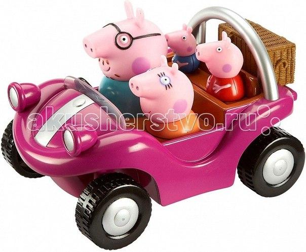 Игровой набор спортивная машина, Peppa Pig