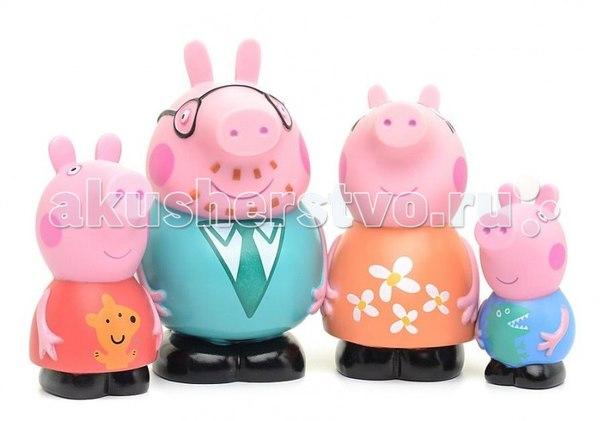 Игрушка для купания семья пеппы, Peppa Pig