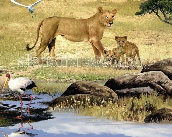 Пазл животные африки с видео-анимацией 1000 элементов, Ravensburger