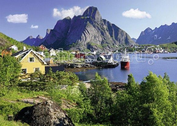 Пазл норвегия. лофотенские острова с видео-анимацией 1000 элементов, Ravensburger