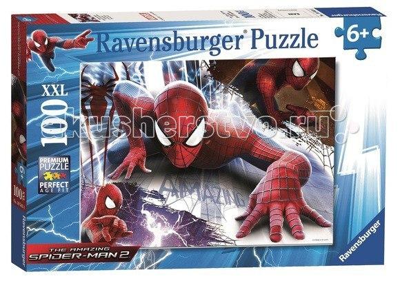 Пазл человек-паук xxl 100 элементов, Ravensburger