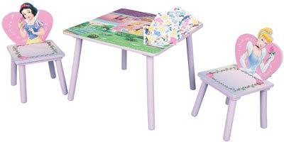 Игровой стол со стульями принцесса, Disney