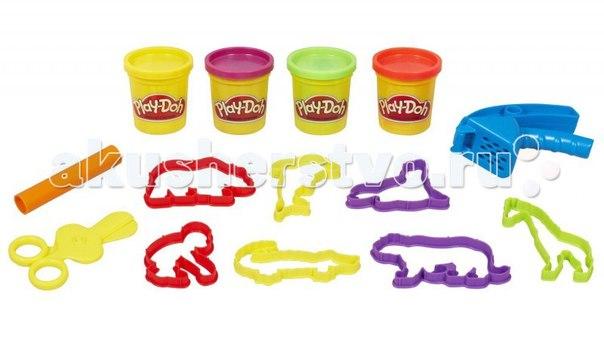 Пластилин Hasbro Мини набор Сумочка с животными, Play-Doh