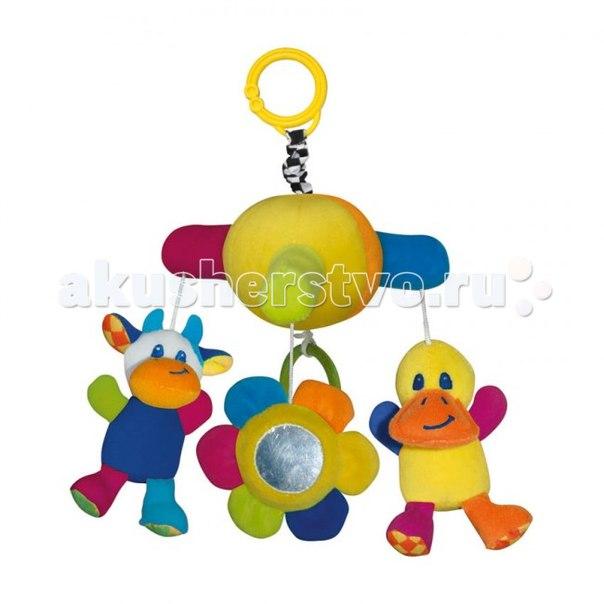 Подвесная игрушка музыкальная Утка, Bertoni (Lorelli)