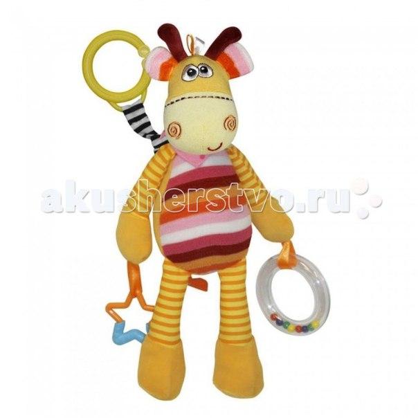 Подвесная игрушка разноцветный Жираф, Bertoni (Lorelli)
