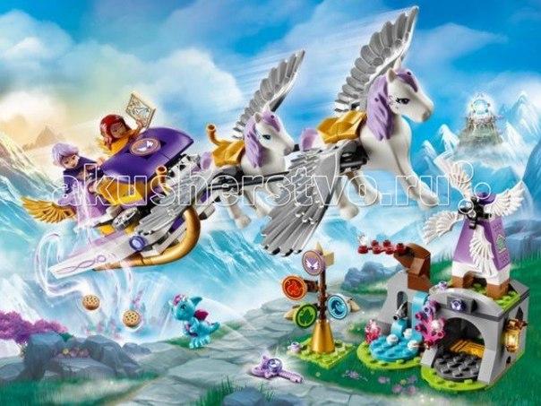 Конструктор Elves Летающие сани Эйры, Lego