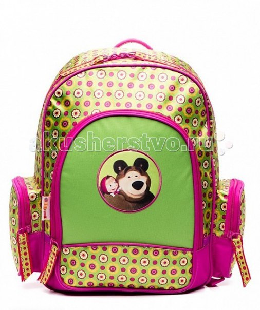 Рюкзак маленькая модница 22113, Маша и Медведь
