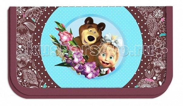 Пенал бирюза 22103, Маша и Медведь