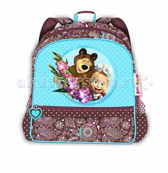 Рюкзак бирюза 22097, Маша и Медведь
