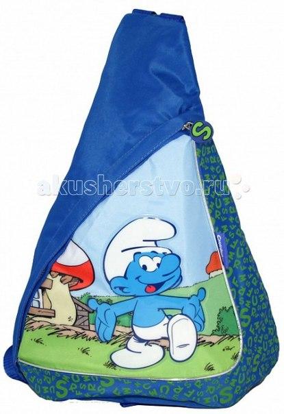 Рюкзак треугольный friends 19820, Смурфики