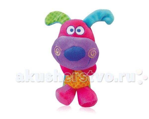 Подвесная игрушка мягкая Собачка/Слоненок, Bertoni (Lorelli)