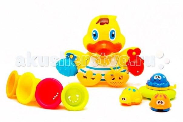 Игрушка для ванной утенок и его друзья, Brasco