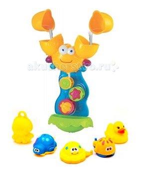 Игрушка для ванной крабик с друзьями, Brasco