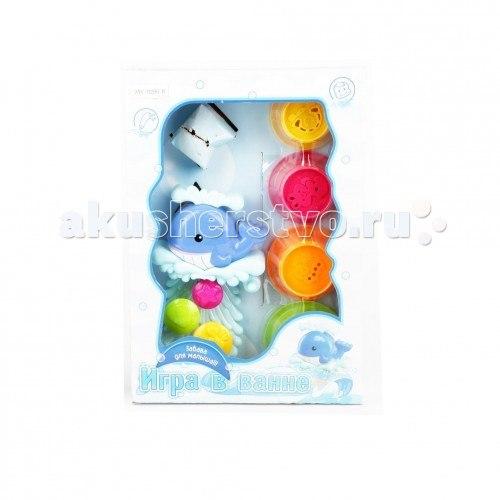 Игрушка для ванной кит с аксессуарами, Brasco
