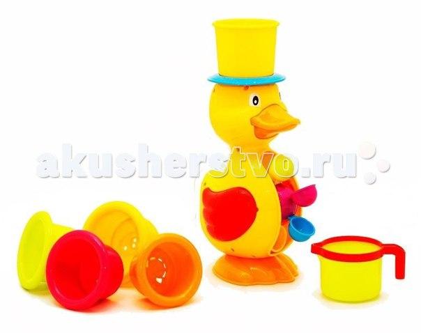 Игрушка для ванной утенок с формочками, Brasco