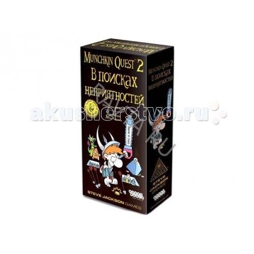 Настольная игра манчкин квест-2 в поисках неприятностей, Hobby World