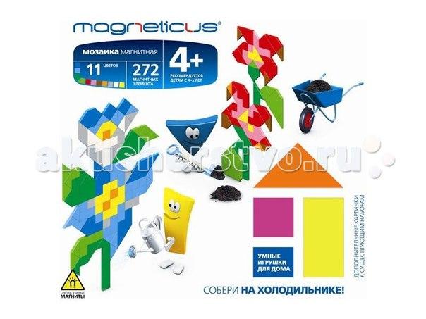 Мозаика магнитная цветы, Magneticus