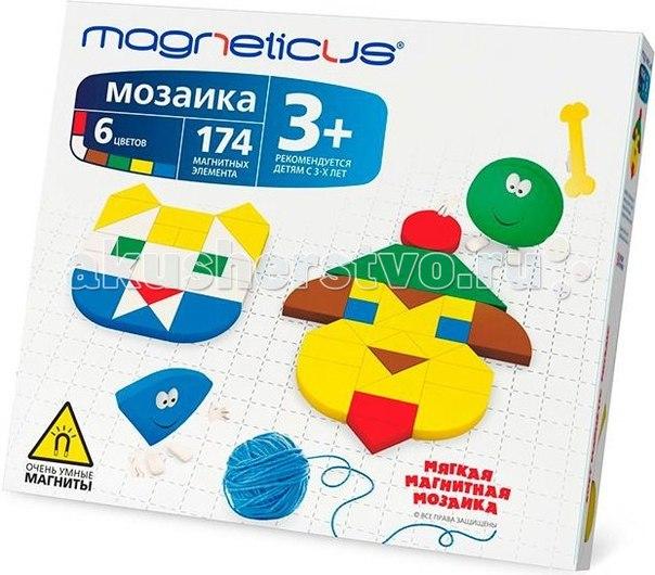 Мозаика магнитная 174 элемента, Magneticus