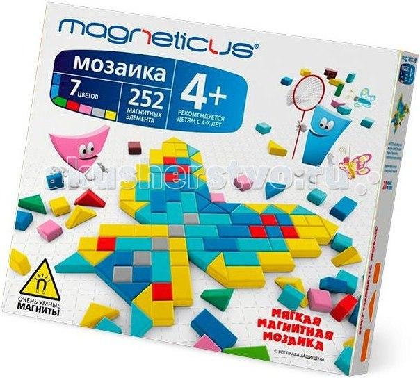 Мозаика магнитная 252 элементов, Magneticus