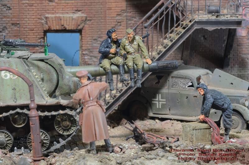 Военно-историческая миниатюра и диорамы