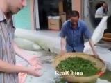 Как китайцы готовят чай в пакетиках.