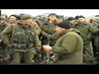 Концерт в Чечне в день праздника Военной разведки.