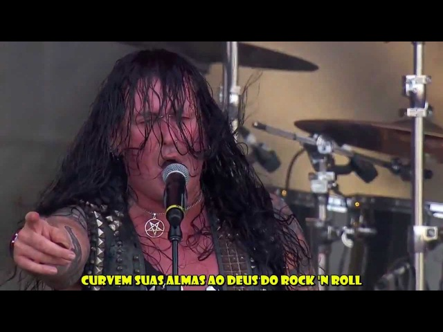 Destruction Krisiun Black Metal Venom Cover Legendado HD Live Rock in Rio 2013