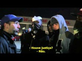 Manifestantes de Ferguson clamam por morte do policial Darren Wilson - Ami Horowitz