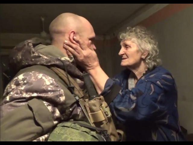 [eng subs] Liberation -- Ghost brigade enters Debaltsevo and evacuates 135 civilians