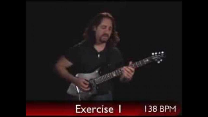 John Petrucci Guitar Lesson - Metronome Practice Exercises