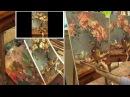 Живопись маслом. Мастер-класс на двух холстах по работе Daniel F. Gerhartz. Oil painting