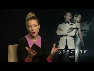 Newest Bond Girl Lea Seydoux talks about being a modern Bond-girl.
