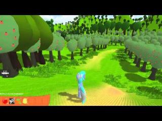 Летсплей на демку РПГ про поней! Demo RPG Pony LetsPlay.