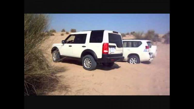 Land Rover Discovery 3 LR3 vs New Land Cruiser Prado 4.0L V6