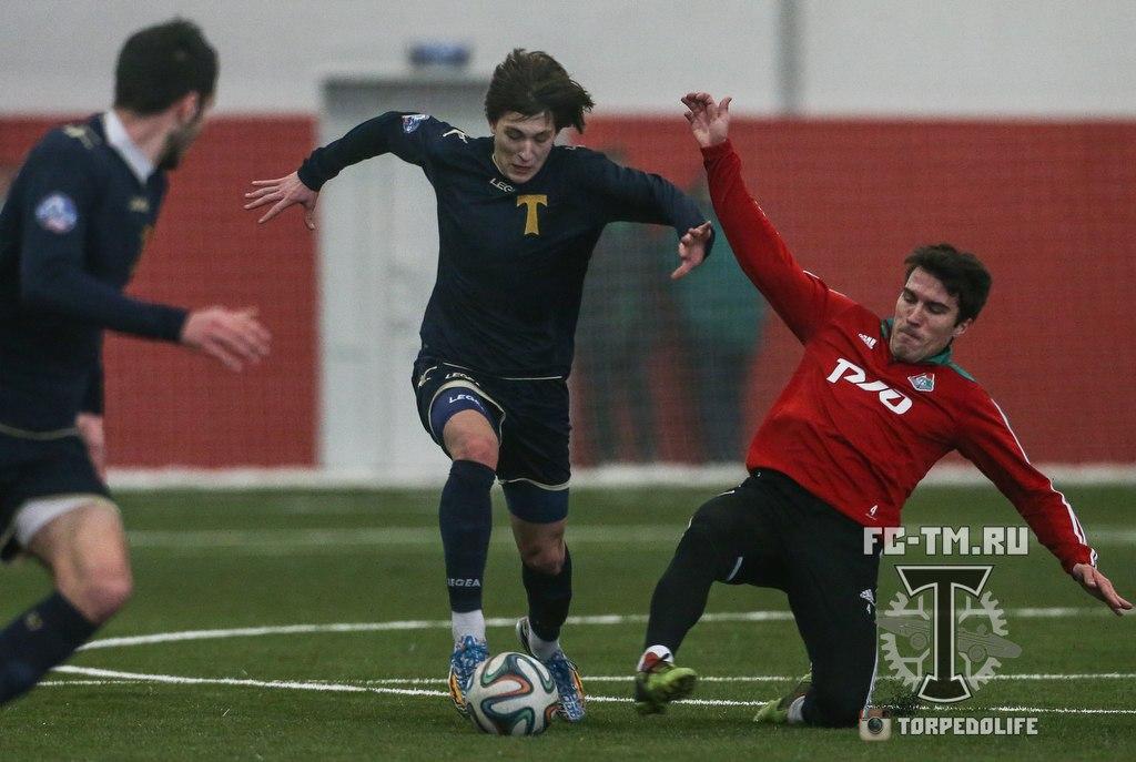 Обинна, Сычев и Сапатер помогли молодежному составу Локомотива обыграть Торпедо