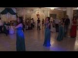 Самые крутые свидетели! Танец дружков и дружек))))