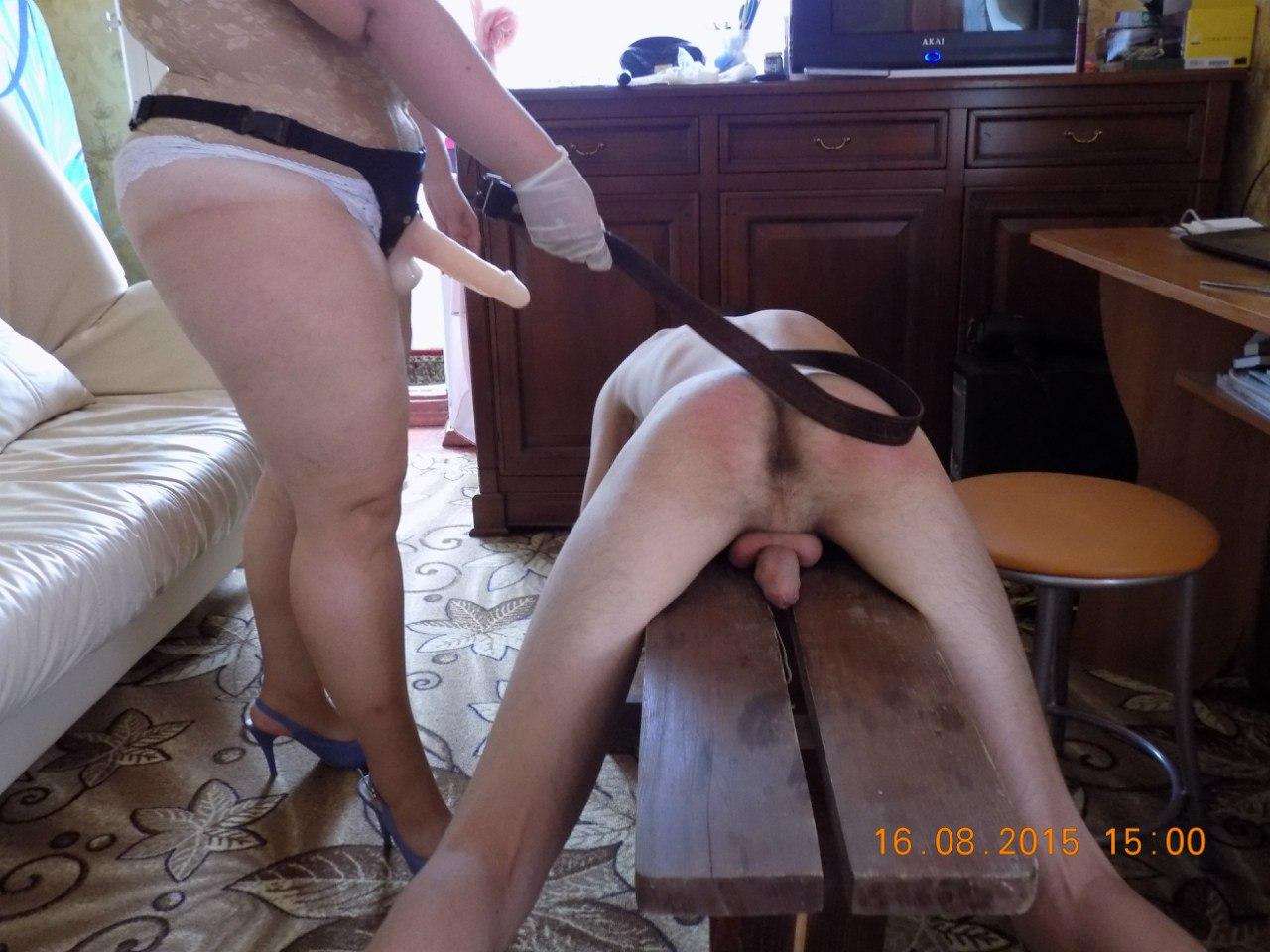 Русская госпожа порет раба 2 фотография