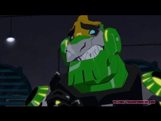 Трансформеры. Роботы под прикрытием Настоящие Цвета. (8 серия HD)