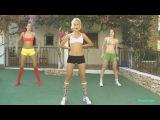 Утренняя зарядка за 10 минут  Фитнес упражнения для дома