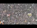Grobari navijanje I Partizan -Besiktas 0:4 23.10.2014